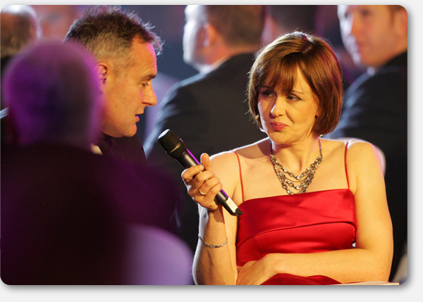 Tanni hosts the BBC Wales Sports Personality of Year 2006