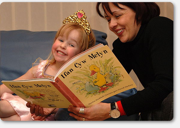 Story-time for Carys